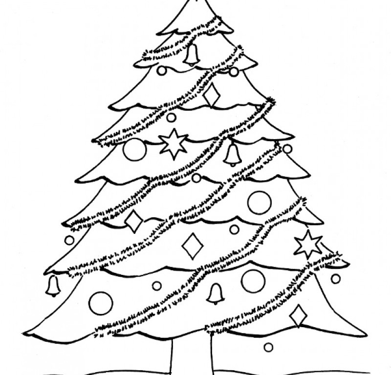 Blank Christmas Tree Az Coloring Pages Blank Tree Coloring Page