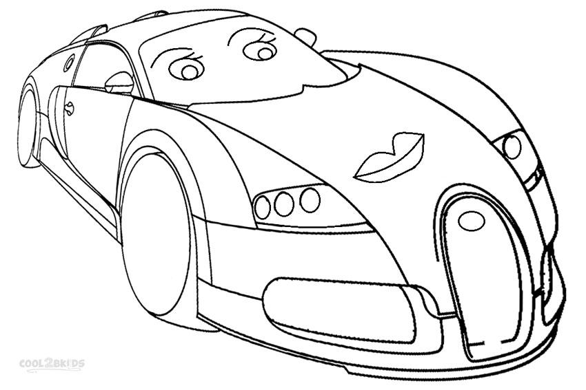 Bugatti Veyron Colors