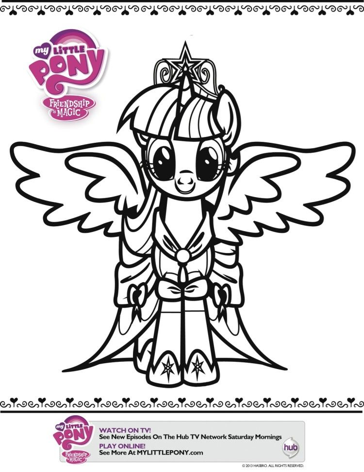 My Little Pony Coloring Sheets Pages Dr