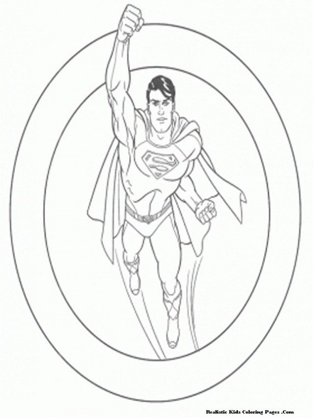 superman coloring pages free kids viewing gallery for