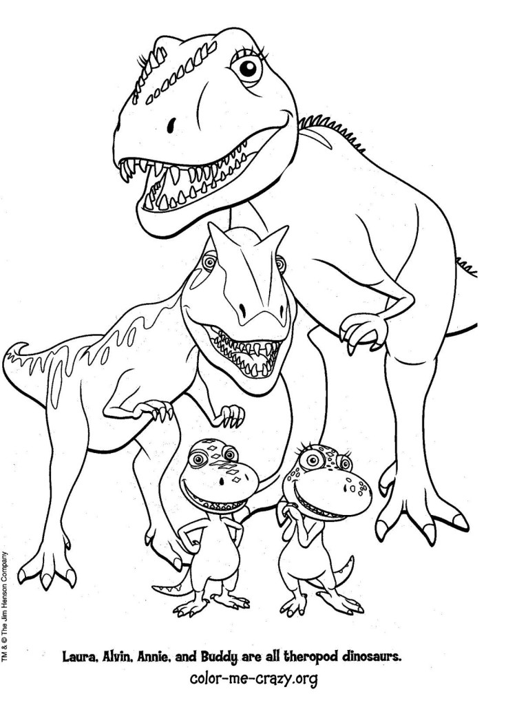 Printable Coloring Pages Dinosaur