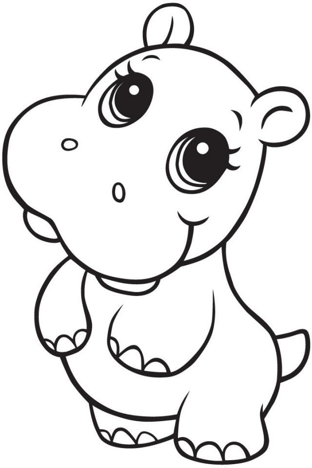 Animated hippo pictures az coloring pages sketch coloring page for Hippo coloring pages