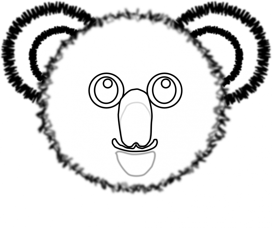 Koala For Kids Coloring Home