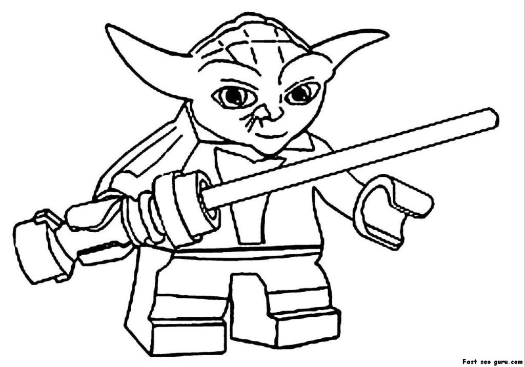 Lego Luke Skywalker Coloring Pages - Coloring Home