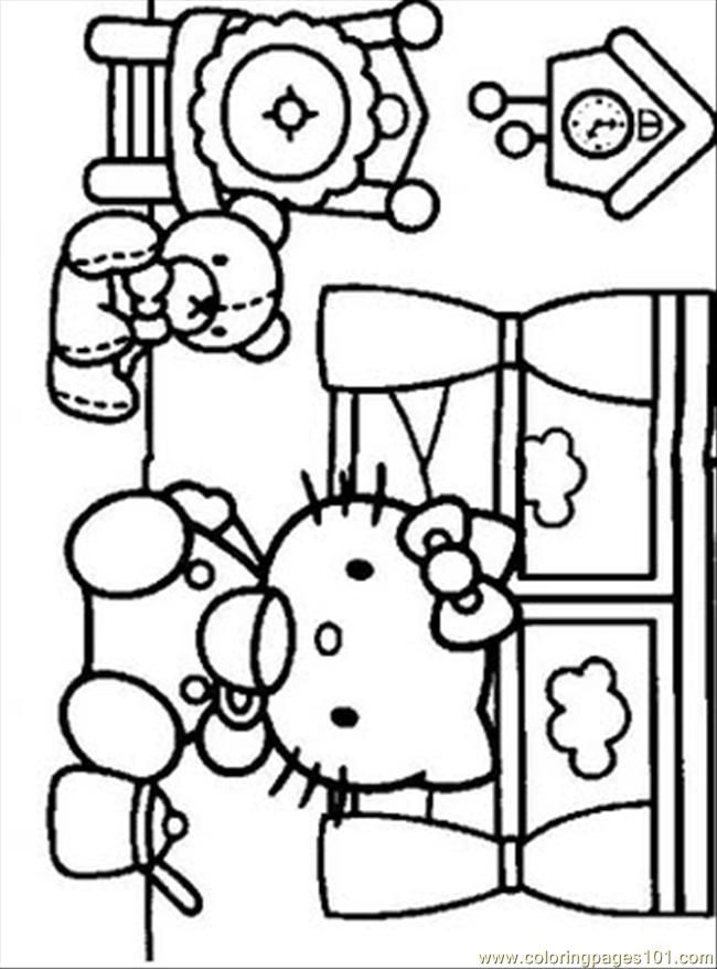 Coloring Pages Hello Kitty6 Cartoons Gt Hello Kitty