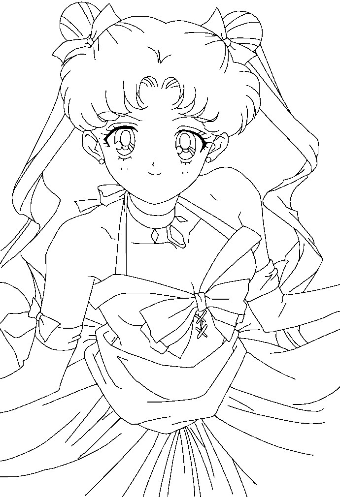 Sailor Moon Printable Coloring Pages - AZ Coloring Pages