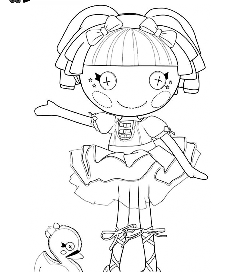Lalaloopsy Coloring Pages Free - Coloring Home