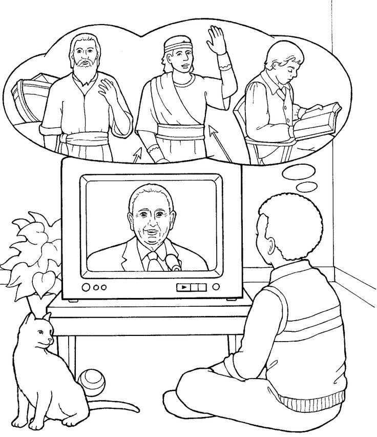 Thomas S Monson Coloring Page - Coloring Home