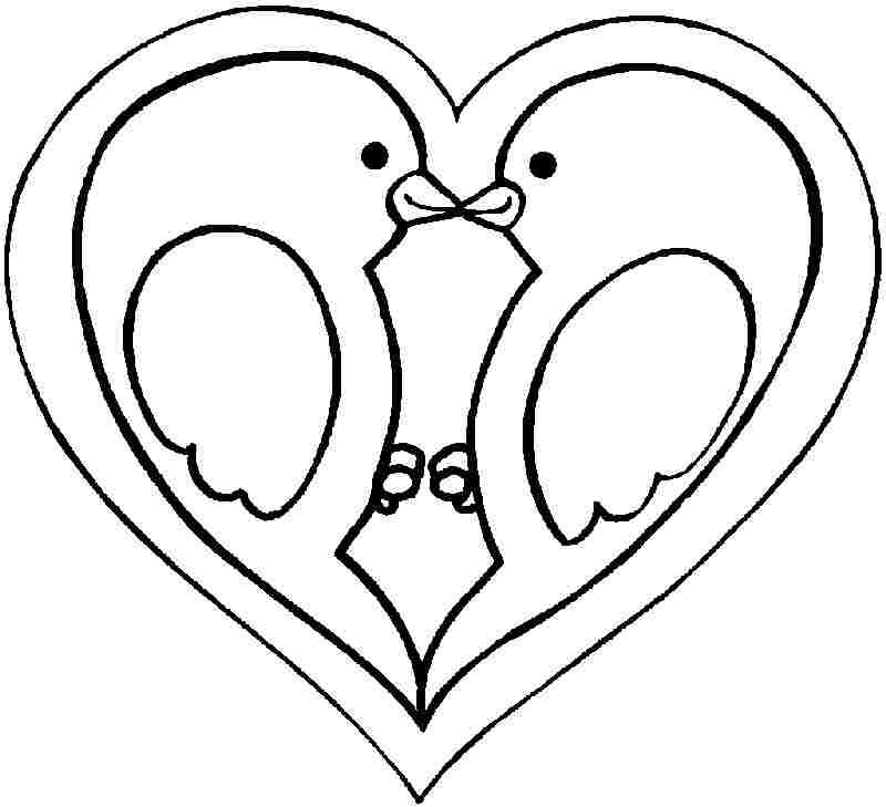 valentine coloring pages for girls - photo#27