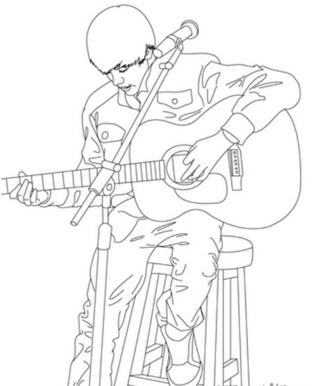Free coloring pages of justin bieber az coloring pages for Justin bieber coloring pages