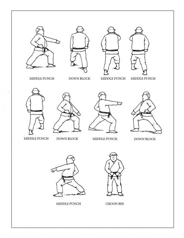Taekwondo Coloring Pages