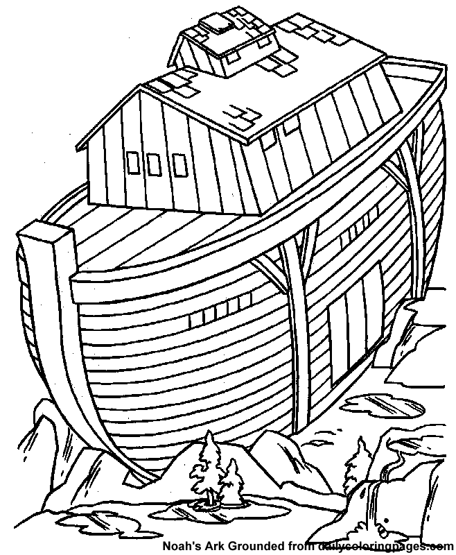 Noah Ark Coloring Pages 30 | Free Printable Coloring Pages