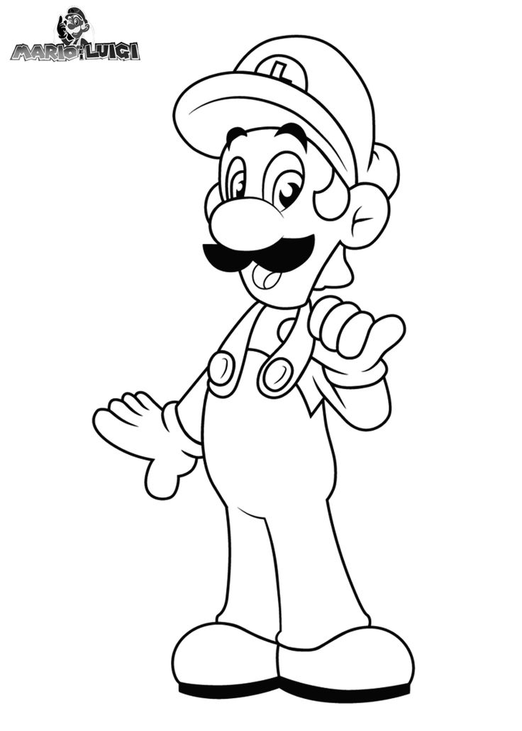mario mansion coloring pages - photo#18