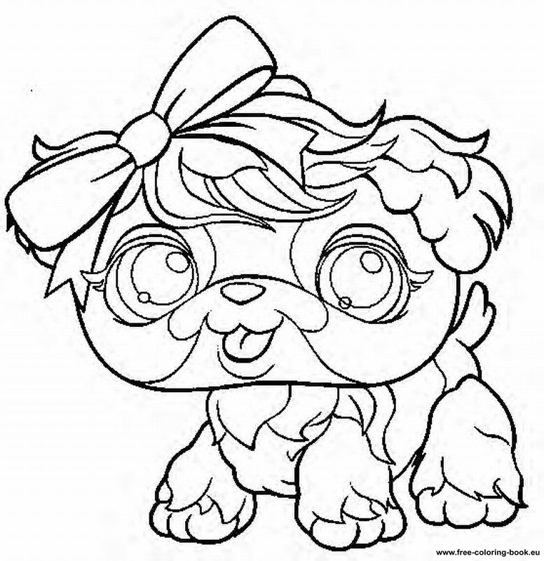 coloring pages littlest pet shop page 2 printable coloring - Lps Coloring Book