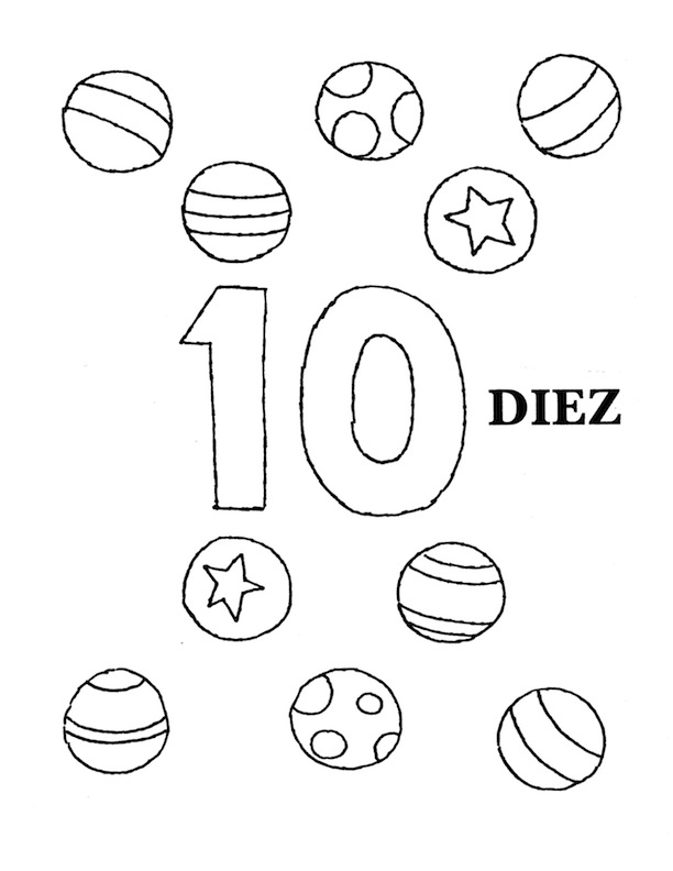 Number pages 1 20 coloring pages for Number 20 coloring page