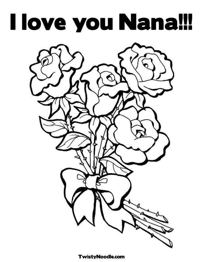 Coloring Pages I Love You Coloring Home