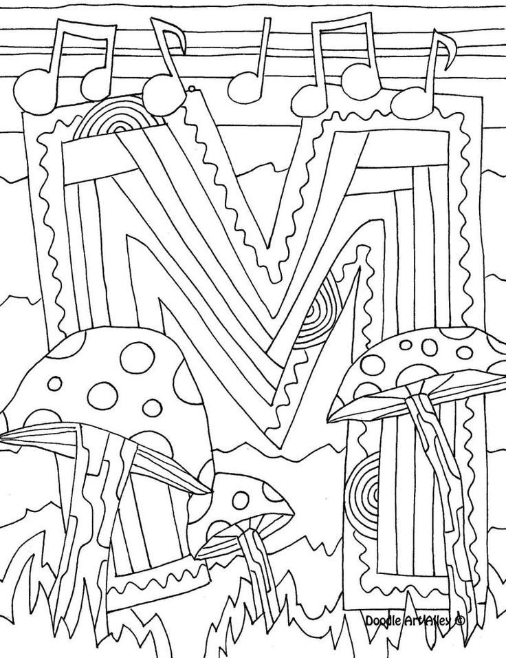 Doodle Art Coloring Pages Coloring Home Doodle Alley Coloring Pages
