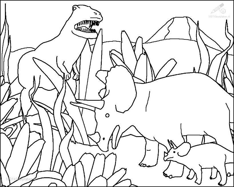 prehistoric animals animals coloring pages 27 color