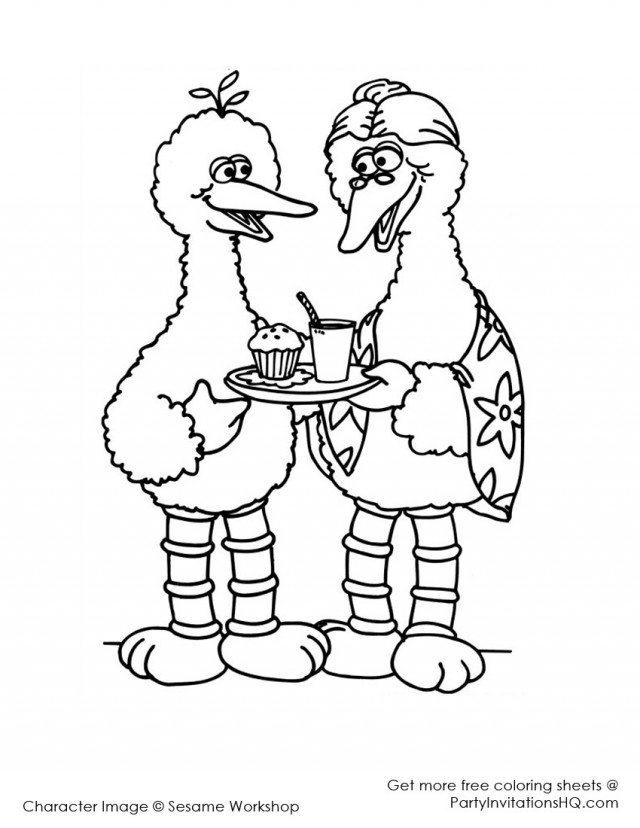 Big Bird Coloring Pages Coloring Coloring Pages Big Coloring Pages