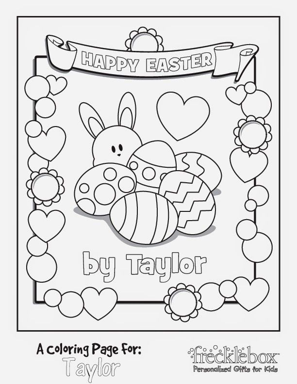 again plus easter color page printable happy easter bunny