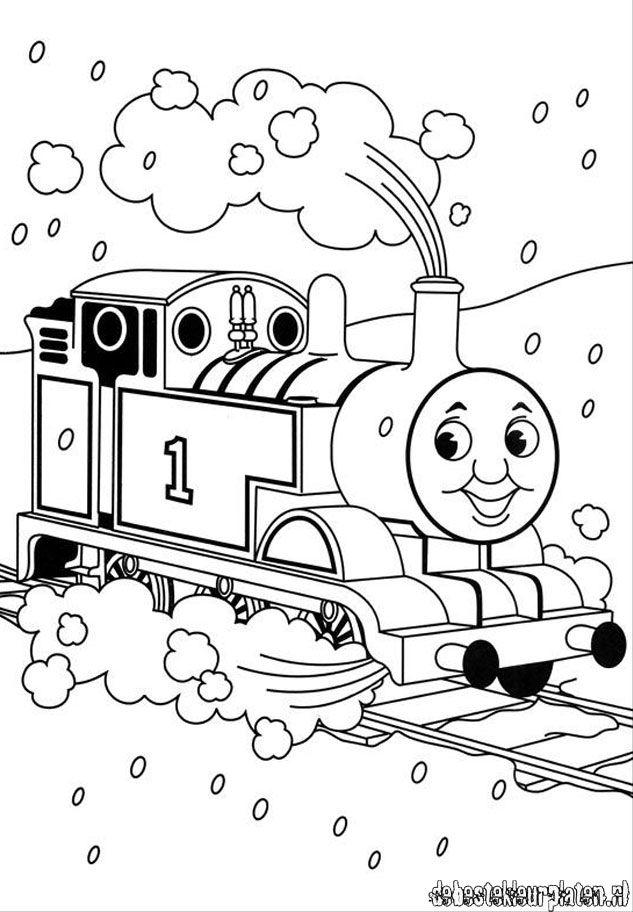 Thomas Coloring Book