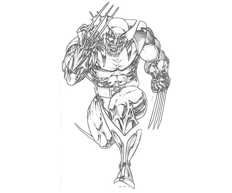 Marvel Coloring Page Coloring