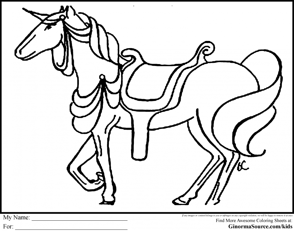 Black Beauty Coloring Pages Book Area Best Source For