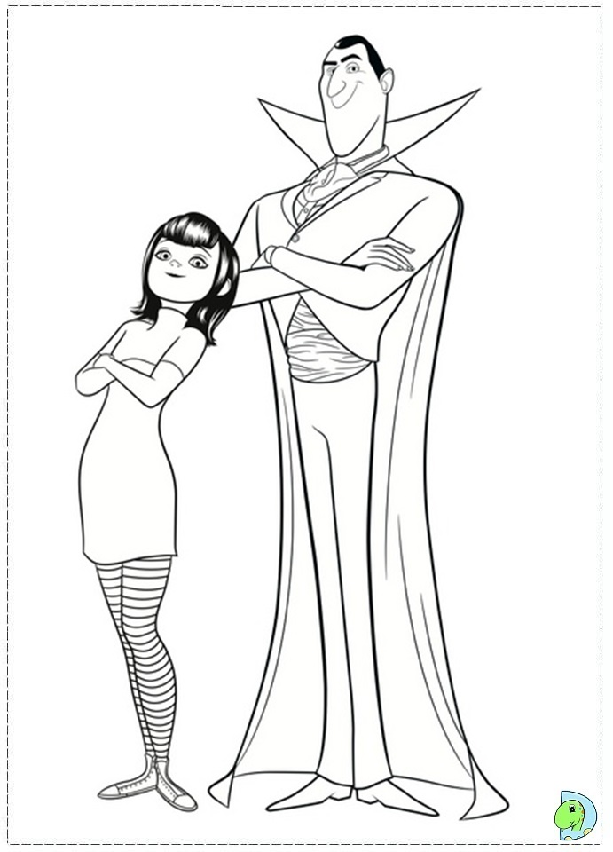 coloring pages hotel - photo#16
