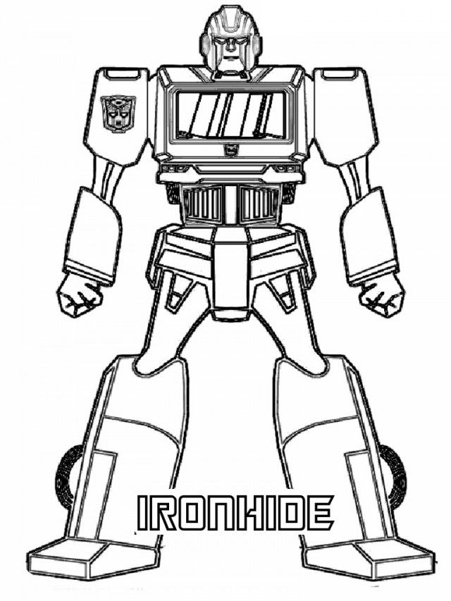 Transformers Coloring Pages Free Printable Coloring Pages Free