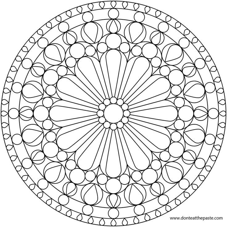 daisy_window_lg.png (1600×1600) | Coloring Pages