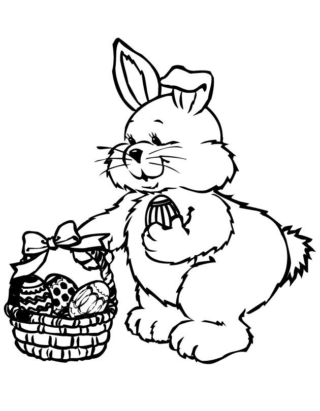 Picnic Basket Coloring Page Bread Basket Coloring Page