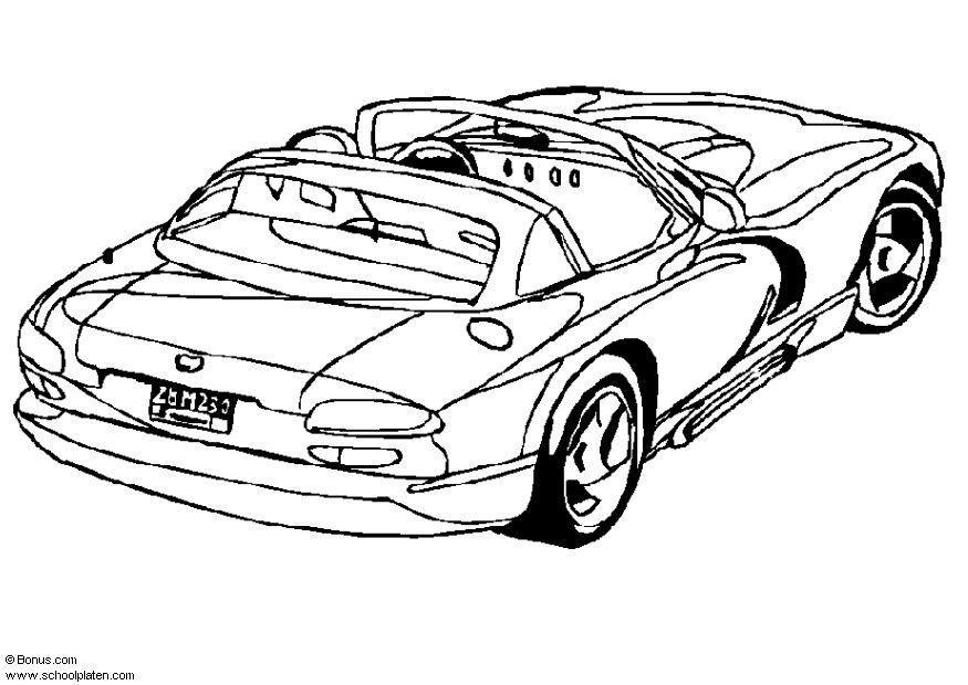 Viper Coloring Pages Dodge Viper Coloring P...