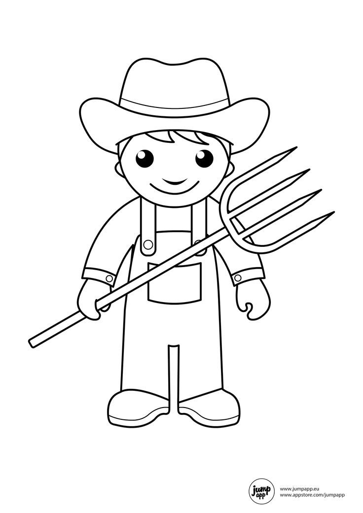 coloring pages community helper - photo#29