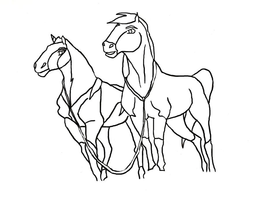 spirit stallion free coloring pages - photo#24