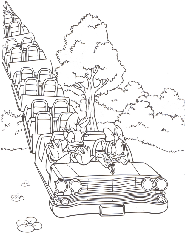 disneyland coloring pages printable - photo#13