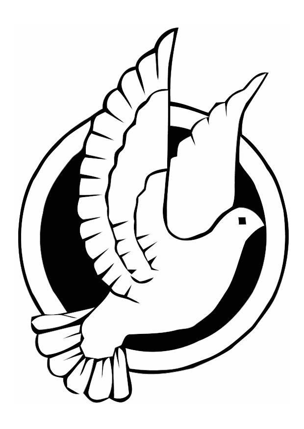 dove coloring pages print - peace doves images az coloring pages