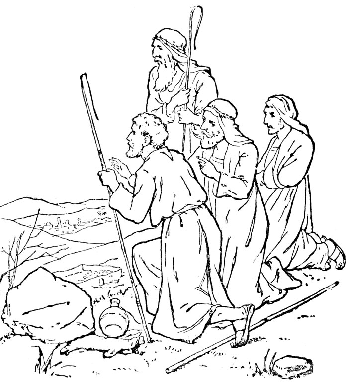 coloring pages of bible characters - photo#14