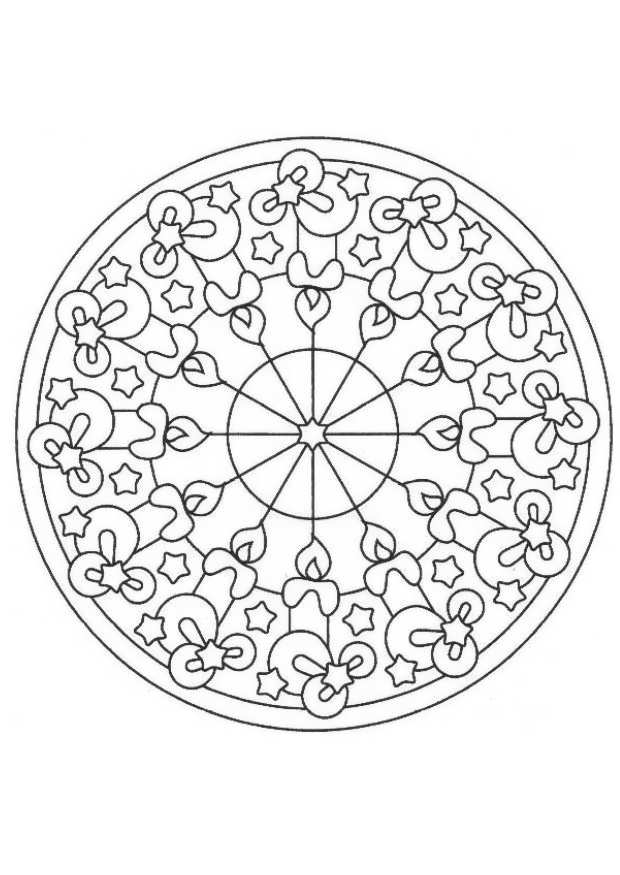 kaleidoscope coloring pages to download - photo #24