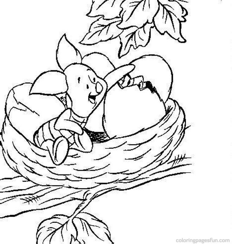 clasic poooh coloring pages - photo#20