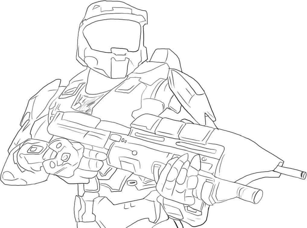 Halo Coloring Pages Pdf : Halo coloring pages to print home