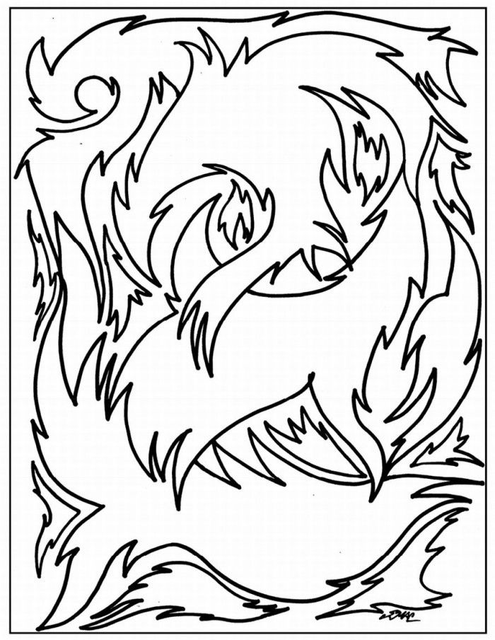 abstract coloring pages for teenagers coloring home