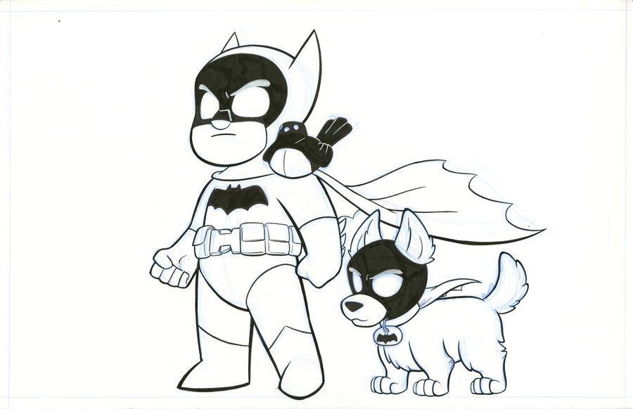 superman and superdog coloring pages - photo#24