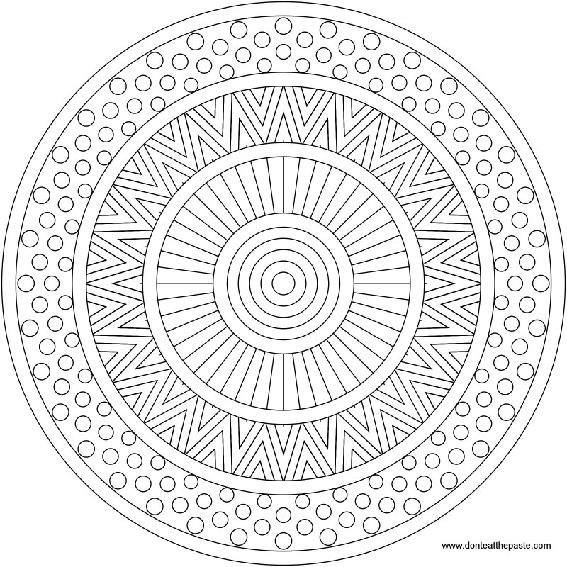 Mixed Patterns by Shala | Coloring pages | Pinterest
