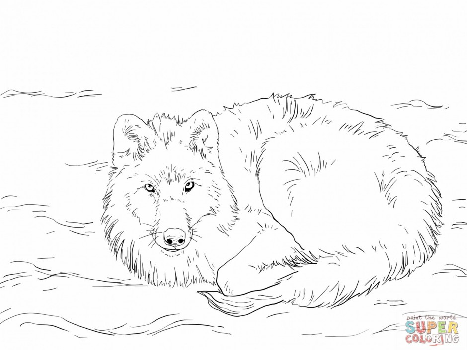 Howling wolf coloring pages az coloring pages for Howling wolf coloring pages