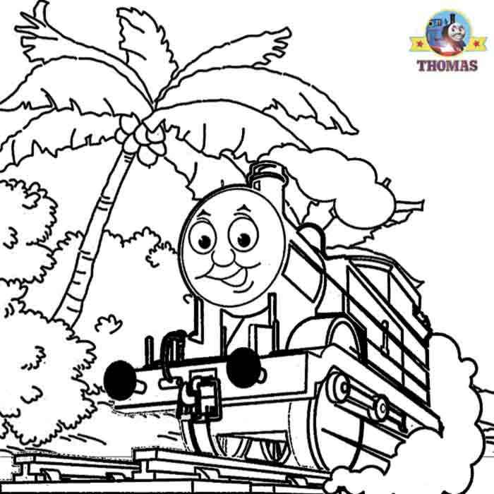 Thomas Coloring Pages Online Coloring Home