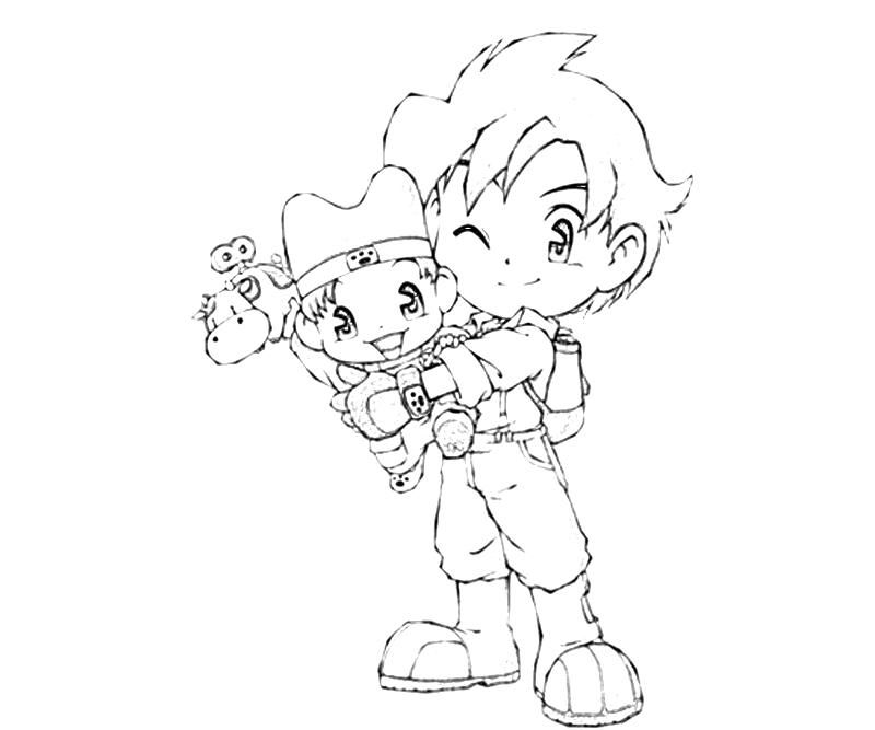 Harvest Moon Coloring Pages Jack Baby Coloring Pages Free