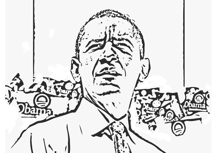 obama and coloring pages - photo #46