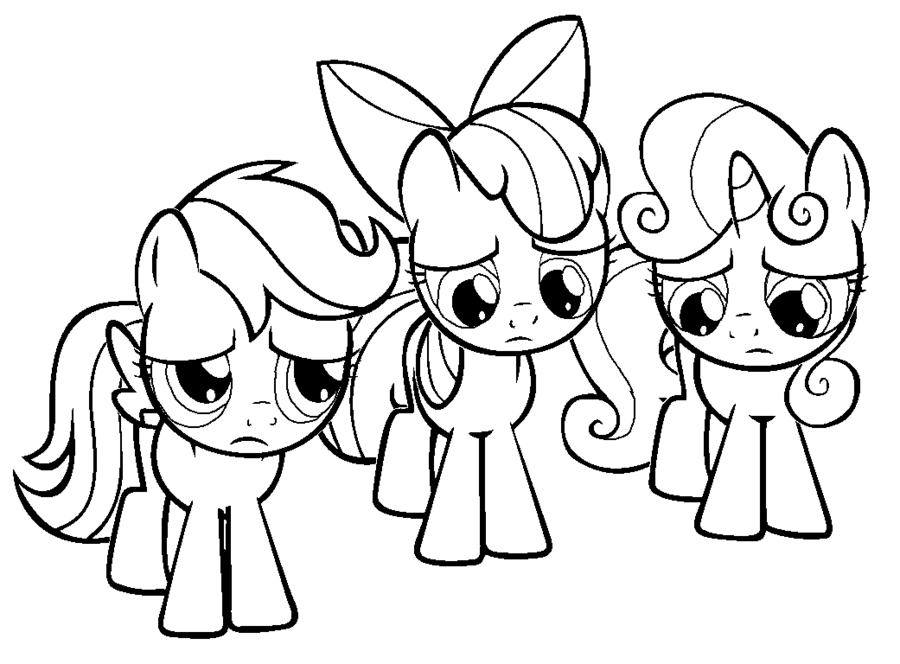 scootaloo and rainbow dash coloring pages - photo #21