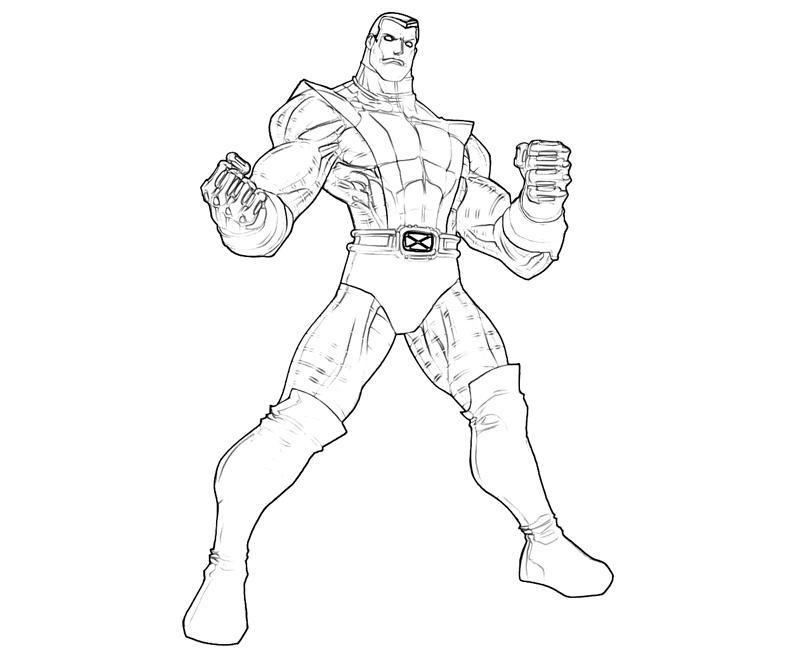 x men colossus coloring pages | Coloring Pages For Kids