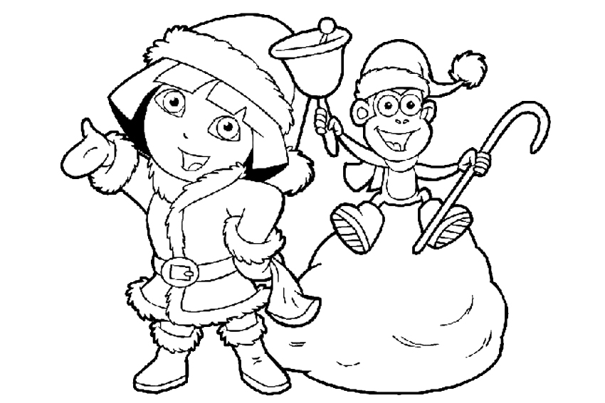 Coloring pages printable nick jr dora coloring pages az coloring